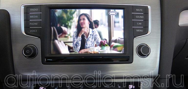 Установка ТВ-тюнера на Volkswagen