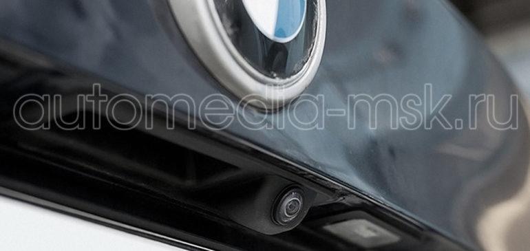 Установка парковочной камеры на BMW X5