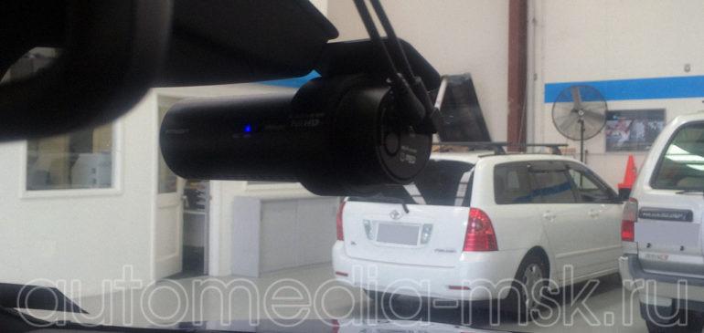 Скрытая установка видеорегистратора на Lexus LS
